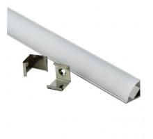 Угловой профиль для светодиодной ленты 16x16 GAL-GLS-2000-16-16