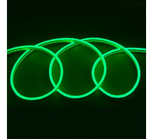 Гибкий Неон 12V 9,6 Вт/м Зелёный 6*12 5м