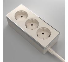 W6523603/ Удлинитель Gallant 3х2К+З, 3м. (слоновая кость)