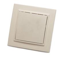 Выключатель 1-клавишный, STEKKER, PSW10-9003-02, 250В, 10А, серия Эрна, слоновая кость