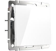 W1113001/ Перекрестный переключатель одноклавишный (белый)