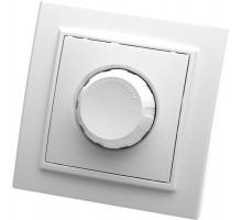 Выключатель диммирующий, STEKKER, PSW10-9006-01, 250В, 600W, серия Эрна, белый