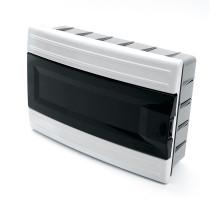 Бокс встраиваемый STEKKER EBX40-2/12-41 12 модулей, пластик, IP41