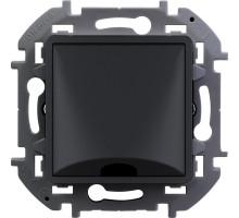 """Вывод кабеля Legrand Inspiria, 12 мм, с зажимом, цвет """"Антрацит"""""""