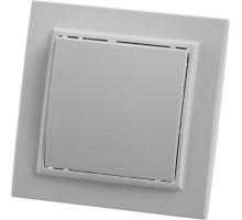 Выключатель 1-клавишный, STEKKER, PSW10-9003-01, 250В, 10А, серия Эрна, белый
