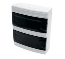 Бокс настенный STEKKER EBX40-1/16-41 16 модулей, пластик, IP41