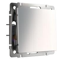 W1110002/ Выключатель одноклавишный (глянцевый никель)
