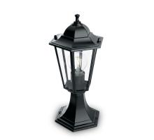 Светильник садово-парковый Feron 6104/PL6104 шестигранный на постамент 60W E27 230V, черный