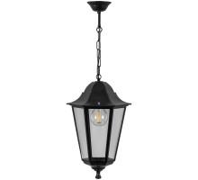 Светильник садово-парковый Feron 6105/PL6105 шестигранный на цепочке 60W E27 230V, черный