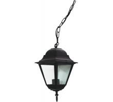 Светильник садово-парковый Feron 4205/PL4205 четырехгранный на цепочке 100W E27 230V, черный