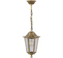 Светильник садово-парковый Feron 6205/PL6205 шестигранный на цепочке 100W E27 230V, черное золото