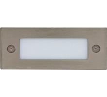 Светодиодный светильник Feron LN201A встраиваемый 1W 5000K серебристый
