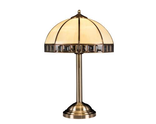Шербург Настольный светильник CL440811 Бронза Старая\ Бежевый CITILUX
