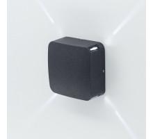 CLU Уличный настенный светильник CLU0006X Чёрный CITILUX