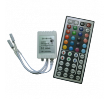 Ecola Контроллер 12A 144W 12V (288W 24V)  с большим инфракрасным пультом управления
