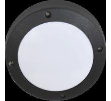 Ecola GX53 LED B4139S светильник накладной IP65 матовый Круг алюмин. 1*GX53 Черный