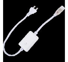 Ecola Контроллер 200W 0,9A для ленты 220V 16x8 IP68 с кнопкой переключения режимов