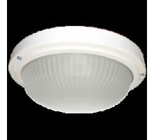 Ecola Light GX53 LED ДПП 03-18-103 светильник  Круг накладной 3*GX53 матовое стекло IP65 белый