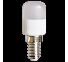 Светодиодная лампа Ecola T25 LED 1,5W E14 4000K капсульная 270° матовая