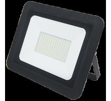 Ecola  100,0W 220V 6000K IP65 Светодиодный Прожектор тонкий Черный
