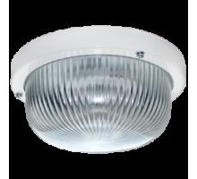 Ecola Light GX53 LED ДПП 03-7-001 светильник Круг накладной IP65 1*GX53 прозр. стекло белый