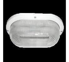Ecola Light GX53 LED ДПП 03-9-002 светильник Овал накладной 2*GX53 прозр стекло IP65 белый