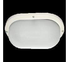 Ecola Light GX53 LED ДПП 03-9-102 светильник Овал накладной IP65 2*GX53 матовое стекло белый