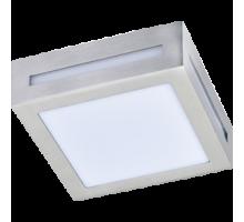 Ecola GX53 LED 3082W светильник накладной IP65 матовый Квадрат металл. 1*GX53 Cатин-хром