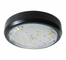 Ecola GX53 5356 Накладной Легкий Черный (светильник)