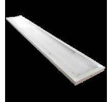 Ecola LED panel универс. (без ступеньки) панель с 2-мя драйверами внутри 72W 220V  6500K Призма 1195x180x19