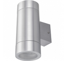 Ecola GX53 LED 8013A светильник накладной IP65 прозрачный Цилиндр металл. 2*GX53 Cатин-хром