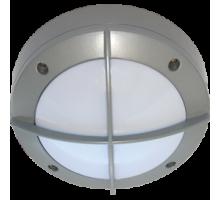 Ecola GX53 LED B4143S светильник накладной IP65 матовый Круг с решеткой алюмин. 1*GX53 Серый