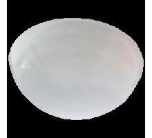 """Ecola Light GX53 LED ДПП 03-60-2 светильник """"Сириус"""" Круг накладной IP65 1*GX53 матовый белый"""
