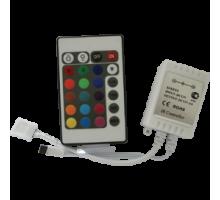 Ecola Контроллер   6A 72W 12V (144W 24V) с инфракрасным пультом управления