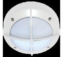Ecola GX53 LED B4143S светильник накладной IP65 матовый Круг с решеткой алюмин. 1*GX53 Белый