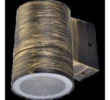 Ecola GX53 LED 8003A светильник накладной IP65 прозрачный Цилиндр металл. 1*GX53 Черненая бронза
