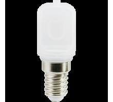 Светодиодная лампа Ecola T25 LED 3W E14 6000K капсульная 340° матовая