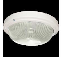 Ecola Light GX53 LED ДПП 03-18-003 светильник  Круг накладной 3*GX53 прозр стекло IP65 белый