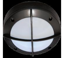 Ecola GX53 LED B4143S светильник накладной IP65 матовый Круг с решеткой алюмин. 1*GX53 Черный