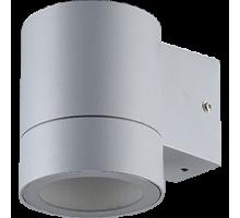 Ecola GX53 LED 8003A светильник накладной IP65 прозрачный Цилиндр металл. 1*GX53 Серый матовый