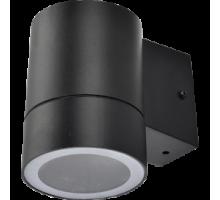 Ecola GX53 LED 8003A светильник накладной IP65 прозрачный Цилиндр металл. 1*GX53 Черный