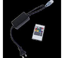 Ecola Контроллер 1000W 4,5A для ленты 220V 14x7 IP68 с инфракрасным пультом