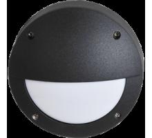 Ecola GX53 LED B4140S светильник накладной IP65 матовый Круг с ресничкой  алюмин. 1*GX53 Черный