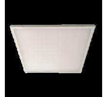 Ecola LED panel универс. (без ступеньки) панель с  драйвером внутри 36W 220V 4200K Матовая 595x595x19