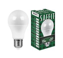 Лампа светодиодная SAFFIT SBA6015 Шар E27 15W 4000K
