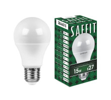 Лампа светодиодная SAFFIT SBA6015 Шар E27 15W 6400K