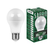 Лампа светодиодная SAFFIT SBA6020 Шар E27 20W 2700K