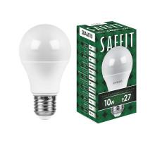 Лампа светодиодная SAFFIT SBA6010 Шар E27 10W 6400K