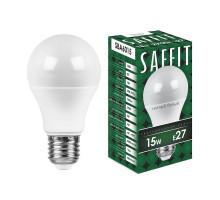 Лампа светодиодная SAFFIT SBA6015 Шар E27 15W 2700K
