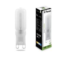 Лампа светодиодная Feron LB-431 G9 7W 4000K